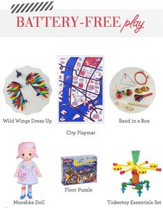 Battery-free toys--p