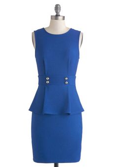Back in Blue Dress, #ModCloth