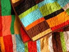 solids only quilt!