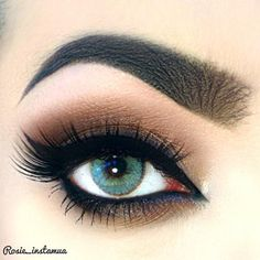 Soft Brown Smokey Eye