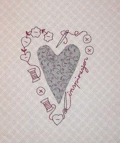 Abyquilt: Christmas heart 2010