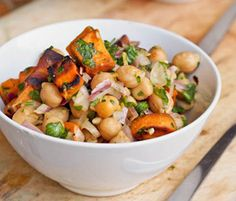 BlogHer.com: Sweet Potato and Chickpea Salad  by Kalyn Denny