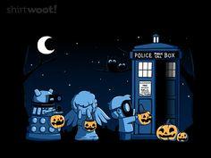A Who Halloween