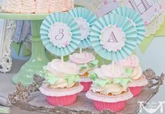 April Showers Party Spring Party  2inch PRINTABLE by CutiePutti, $12.00
