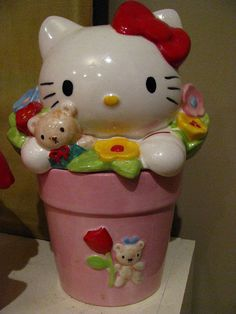 Hello Kitty cookie jar. by Lori-Lyn,