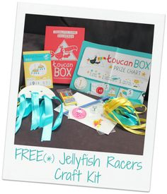 FREE Jellyfish Racer activity pack