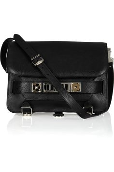 Proenza Schouler|The PS11 Classic textured-leather shoulder bag