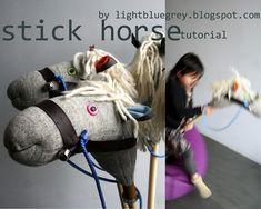 Homemade hobby horse!