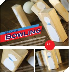 Indoor bowling! This simple children's game young ones can make themselves is a perfect rainy day activity—or any day full of fun game.