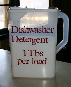 Dishwasher Detergent.