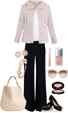 Pretty in Pink, created by strictly-isabel on Polyvore