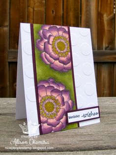 nice people STAMP!: Blendabilities and Blended Bloom Card