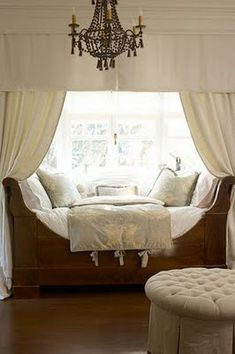 I could sleep in this feather-bed nest for days!