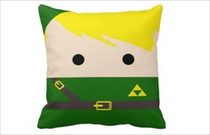 Legend of Zelda PillowPERSONALIZED Legend of Zelda by USACASES, $25.00