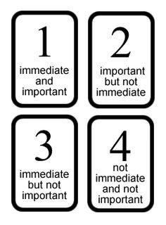 Tarot Layouts - Priorities