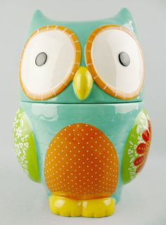 Owl Cookie Jar! Shannon