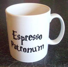 Harry Potter Espresso Patronum coffee mug