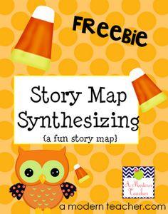 Story Map freebie from A Modern Teacher