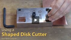 Art Jewelry Assistant Editor Reidin Dintzner shows you how to used shaped disk cutters.