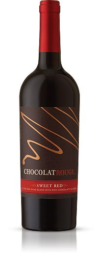 ChocolatRouge - Sweet Red Wine and Rich Chocolate.  This is red wine with a hint of chocolate.  Fantastic!