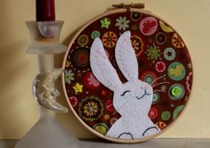 Free Bunny Appliqué Pattern from Cherry and Cinnamon