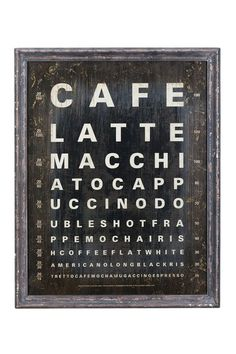 Cafe Latte Wall Art by Bohemian Lighting and Decor on @HauteLook