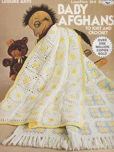 Baby Afghan Crochet Pattern #crochet