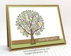 Partridge & Pears, Stampin' Up!, Brian King, FMS150