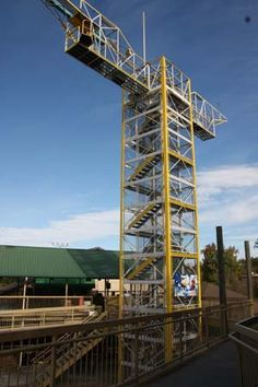 Bungee Jump @ The Track in Pigeon Forge, TN. #Pigeon #Forge #Tennessee #vacation #attractions #fun #family #whattodo