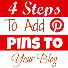 Add Pinterest Pins to Your Blog