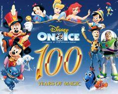 Disney On Ice ~ 100 Years of Magic