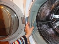 Cleaning front load washers