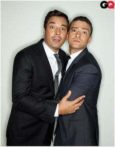 Jimmy Fallon & Justin Timberlake. Two of the best people on this planet. #bromance