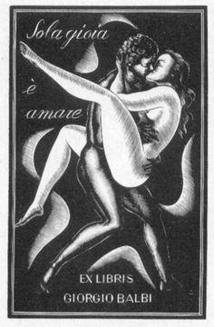 Exlibris of Giorgio Balbi
