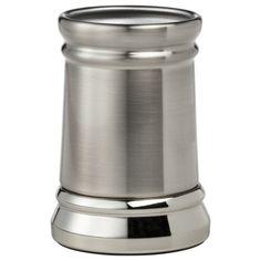 Threshold™ Bathroom Tumbler - Silver Nickel