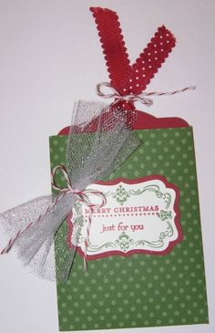 Christmas Envelope/Gift Card Holder