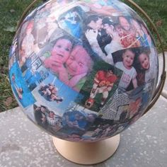 mother, gift ideas, craft stores, world globes, photo globe