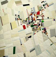 Ian Hundley--Oberg White 2006--cotton, wool, silk & linen