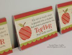 teacher magnet (June 2011 craft)
