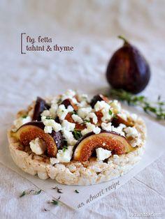 Fig, Fetta, Tahini & Thyme – an Almost Recipe
