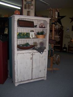 Primitive Jelly Cupboard