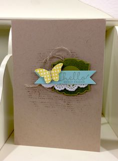 Stampin' Up! Card by Jill F