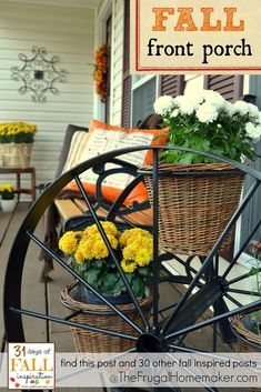 31 Days of Fall Inspiration - Fall Front Porch