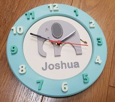 Elephant Clock - available Jigsaw Wooden Products.  Please see my Etsy shop for more details.