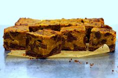 pumpkin swirl brownies by smitten, via Flickr