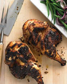 Sweet spices and hot chiles make this seem like perfect combination of flavors for this chicken.