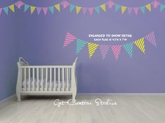 Pennant Wall Decals