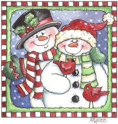 decoupag clipart, picasa, christmas clipart, snowmen, christma printablescacp2