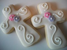 First Communion/Baptism Cookies by Cake Pop Confectionary
