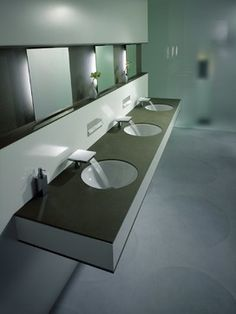 Commercial Bathrooms On Pinterest Contemporary Bathrooms Restroom Design And Bathroom
